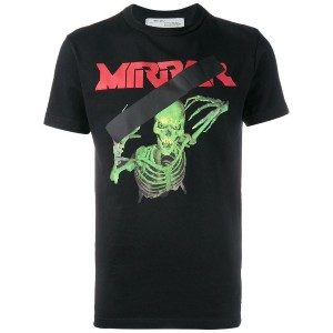 Off-White - Skull Mirror Tシャツ - men - コットン - M