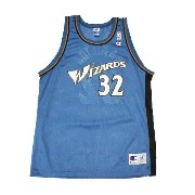 【CHAMPION】NBA WIZARDS HAMILTON BASKETBALL JERSEY [CYAN:XL(48)]/チャンピオン
