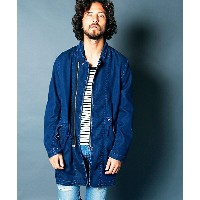 【Magine(マージン)】1714-21-TENCEL DENIM ZIP CHESTER MODS COAT モッズコート