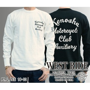 【WEST RIDE/ウエストライド】ロングスリーブ/PT.L.TEE 16-03★REAL DEAL