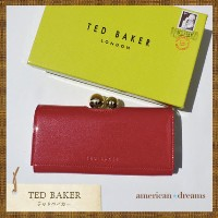 TED BAKER【テッドベイカー】長財布♪ RED TED BAKER(テッドベイカー ) バイマ BUYMA