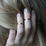 TOMBOY FIRST KNUCKLE RING, ROSE GOLD(刻印あり) Catbird(キャットバード) バイマ BUYMA