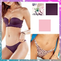 ★Victoria's secret★セール!Long Line Bandeau/High-leg Itsy Victoria's secret(ヴィクトリアシークレット) バイマ BUYMA