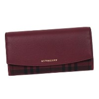 バーバリー 3996777 PORTER CHERRY 長財布 色:DARK PLUM Burberry(バーバリー) バイマ BUYMA