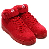 NIKE AIR FORCE 1 MID '07 (ナイキ エア フォース 1 ミッド 07)(GYM RED/GYM RED-WHITE)【メンズ レディース スニーカー】17SP-I