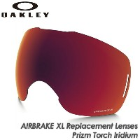 【OAKLEY】オークリー 【AIRBRAKE XL】エアブレイク XL Replacement Lenses Prizm Torch Iridium 101-642-009 交換レンズ...