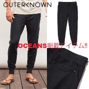 【OUTER KNOWN】OCEANS掲載アイテム☆海外限定 ジョガーパンツ Outer known(アウターノウン) バイマ BUYMA