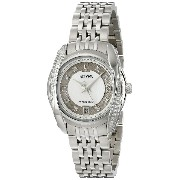 Bulova Women's 96R141 Precisionist Tanglewood Diamond Steel Bracelet Watch【並行輸入品】