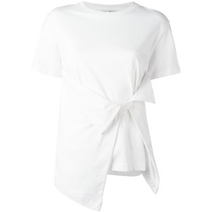J.W.Anderson - front bow T-shirt - women - コットン - L