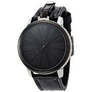 [ブルッキアーナブラックレーベル]BROOKIANA BLACKLABEL Poket Watch & Wrist Watch Roman index Black BKL1004-BKBK