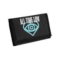 All Time Low 財布 Future Hearts band logo 新しい 公式 ブラック Bifold