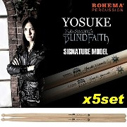 【5ペア】ROHEMA YOSUKE (Kelly SIMONZ's BLIND FAITH) Signature ドラムスティック