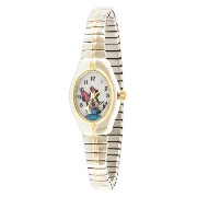 [cpa][c:0][b:5][s:3.37]ディズニー/Disney ミニー レディース腕時計 Women's MCK625 Minnie Mouse Two-Tone Expansion Band Watch 「並行輸入品」
