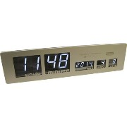 HOUSE USE PRODUCTS LEDクロック ゴールド LED CLOCK Sharon(GD)