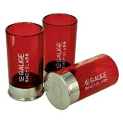 SHOTGUN SHELL SHOT GLASSES 4-PIECE SET