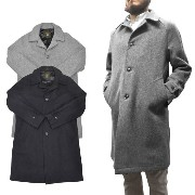 【2 COLOR】FIDELITY(フィデリティ)【MADE IN U.S.A】 24oz SOUTEN COLLAR COAT(アメリカ製 ステンカラーコート) STAIN LINING...
