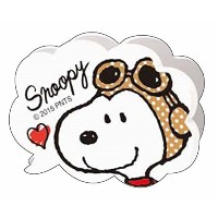 SNOOPY WITH MUSIC スヌーピー 楽譜クリップ (フキダシ/スヌーピー)