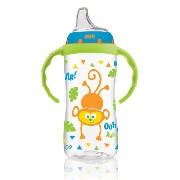 NUK Jungle Designs Large Learner Cup in Boy Patterns, 10-Ounce by NUK [並行輸入品]