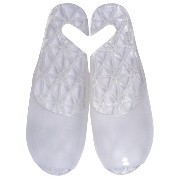 FOOTLIFE bath sandals バスサンダル L(24.5-26.5cm) white F3222 WH-L