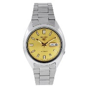 [セイコー]Seiko 腕時計 5 Automatic Gold Dial Stainless Steel Watch SNXS81K メンズ [並行輸入品]