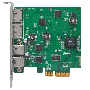 HighPoint RocketU 1144E レイドカード PCI-Express 2.0 x4 2x External USB 3.0 TypeA / 2x External 6Gb/s...