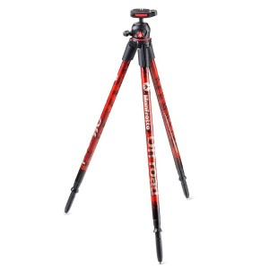 Manfrotto 三脚 Off road 軽量 アルミ レッド MKOFFROADR