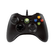 Xbox 360 Wired Controller - Black (輸入版)