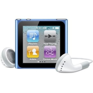 Apple iPod nano 8GB ブルー MC689J/A
