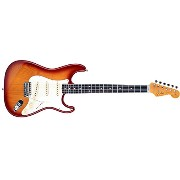 Fender Japan Exclusive Classic 60s Stratocaster Texas Special Cherry Burst フェンダー ジャパンエクスクルーシブ...