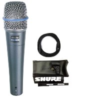 【CANAREマイクケーブル付7点セット】SHURE/シュア Beta 57A ボーカル・楽器マイク