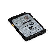 Kingston Digital SDHC Class 10 UHS-I 45R/10W Flash Memory Card (SD10VG2/16GB) [並行輸入品]