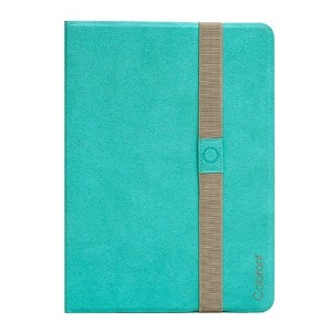 Colorant Book Cover for iPad Air - Mint - 自由な角度で調節可能なスタンド手帳型レザーケース - 日本正規流通品 - BC503