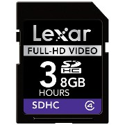 Lexar Full-HD Video SDHCカード 8GB LSD8GBFCJPHD