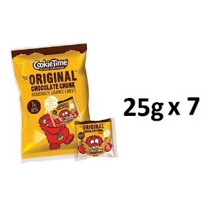 Cookie Time Cookies Rookie 25g 7ea (total 175g) [並行輸入品]