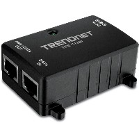 TRENDnet 10/100Mbps IEEE 802.3af準拠 PoE インジェクター/ Power Over Ethernet Injector [TPE-103I]