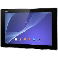 au SONY Xperia Z2 Tablet SOT21 ブラック 白ロム タブレット