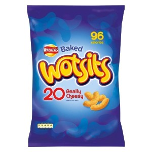 Walkers Wotsits Really Cheesy Corn Puffs (20x17g) 歩行者のwotsits本当に安っぽいコーンパフ( 20X17G )