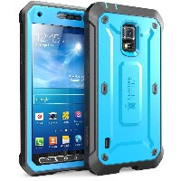 Samsung Galaxy S5 Active Case SUPCASE Unicorn Beetle PRO 衝撃吸収 全面保護 防塵 ハイブリッド ハードケース (Blue/Black)