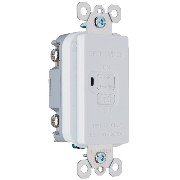 Pass & Seymour 2085WCC10 Gfci Dead Front 20-Amp 125-volt Feed, White [並行輸入品]