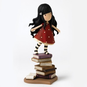 Enesco Gorjuss New Heights Figurine, 8.7-Inch [並行輸入品]