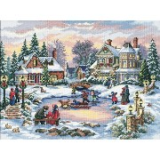 """Gold Collection A Treasured Time Counted Cross Stitch Kit-16""""X12"""" 16 Count (並行輸入品)"""
