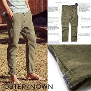 【OUTER KNOWN】OCEANS掲載アイテム☆ローマー カーゴパンツ Outer known(アウターノウン) バイマ BUYMA