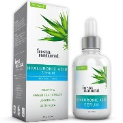 Instanatural Hyaluronic Acid Serum - BEST Anti-Aging Skin Care Product for Face With Vitamin C...