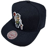 Mitchell & Ness Boston Bruins Wool Solid Snapback Cap NZ980 Kappe Basecap