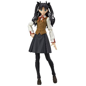 figma Fate/stay night [Unlimited Blade Works] 遠坂凛2.0 ノンスケール ABS&ATBC-PVC製 塗装済み可動フィギュア