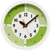 fun pun clock with color! YD15-01 GN