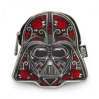 Loungefly x Star Wars Darth Vader Floral Coin Bag
