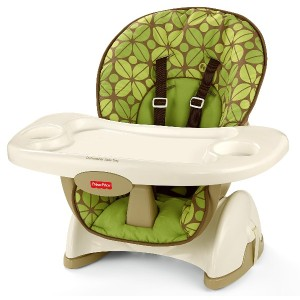 BCK62 SpaceSaver High Chair ハイチェア Fisher-Price社 Rainforest Friends【並行輸入】