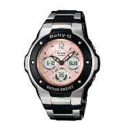 カシオ Casio Women's MSG300C-1B Baby-G G-MS Cool and Tough Ana-Digi Watch 女性 レディース 腕時計 【並行輸入品】