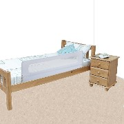 Safetots Extra Wide Bed Rail White by Safetots [並行輸入品]